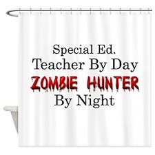 Special Ed. Teacher/Zombie Shower Curtain