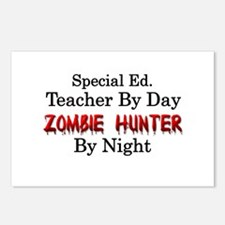 Special Ed. Teacher/Zombi Postcards (Package of 8)
