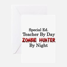 Special Ed. Teacher/Zombie Greeting Card