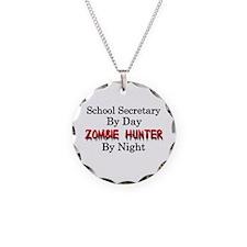School Secretary/Zombie Hunt Necklace