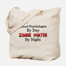 School Psychologist/Zombie Hunter Tote Bag