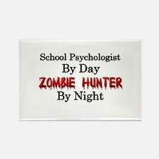 School Psychologist/Zom Rectangle Magnet (10 pack)