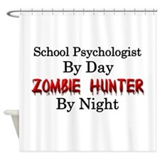 School Psychologist/Zombie Hunter Shower Curtain