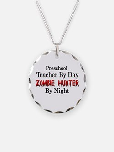 Preschool Teacher/Zombie Hun Necklace