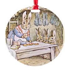 Flopsy, Mopsy, Cotton-tail, and Pet Ornament