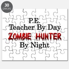 P.E. Teacher/Zombie Hunter Puzzle