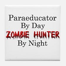 Paraeducator/Zombie Hunter Tile Coaster
