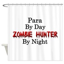 Para/Zombie Hunter Shower Curtain