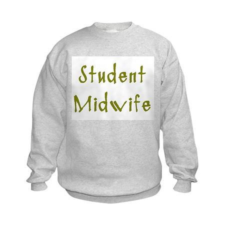 Student Midwife Kids Sweatshirt