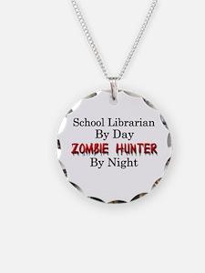 School Librarian/Zombie Hunt Necklace