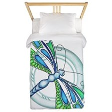 Decorative Dragonfly Twin Duvet