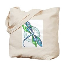 Decorative Dragonfly Tote Bag