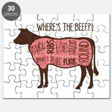 WHERES THE BEEF?! Puzzle