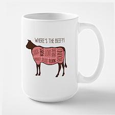 WHERES THE BEEF?! Mugs