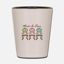 Made in paris Shot Glass
