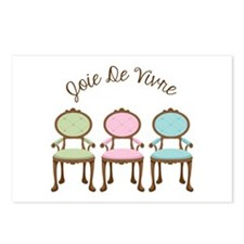 joie de vivre Postcards (Package of 8)