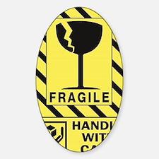 Fragile Sticker (Oval)
