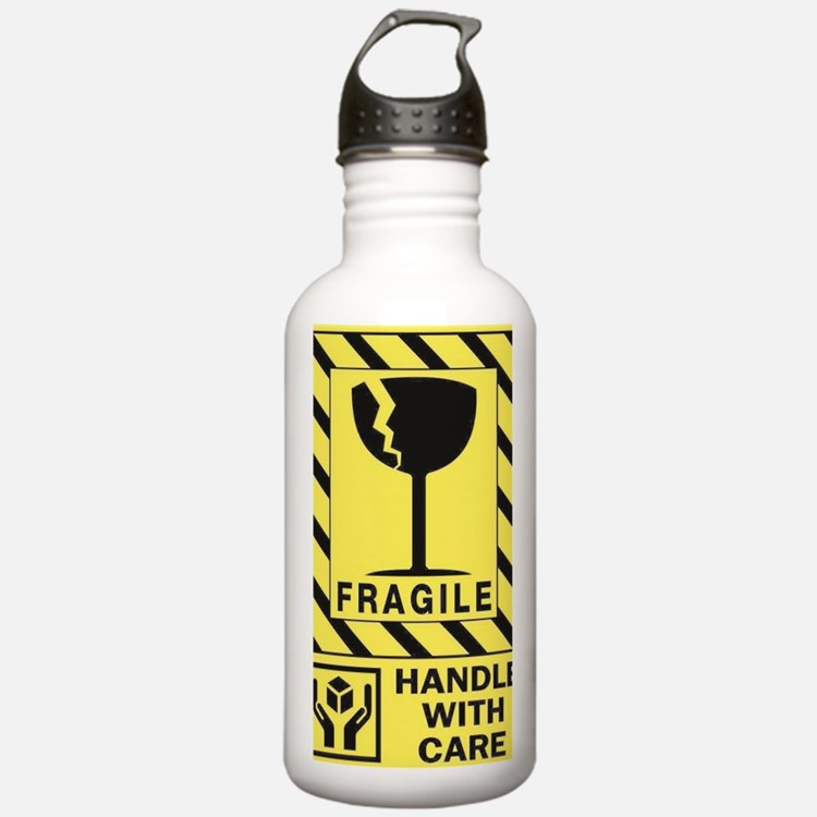 Fragile Water Bottle