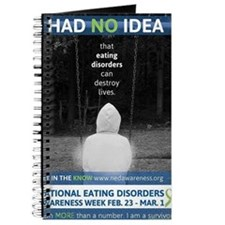 NEDAwareness Week 2014 Theme - I Had No Id Journal