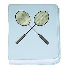 Badminton - No Txt baby blanket