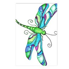 Turquise Dragonfly Postcards (Package of 8)