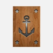 Anchor Board Rectangle Magnet