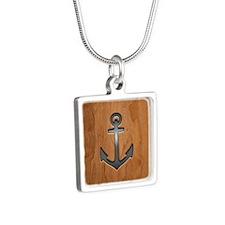 anchor-wood-PLLO Necklaces