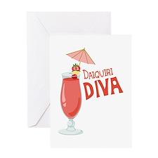 Daiquiri Diva Greeting Cards