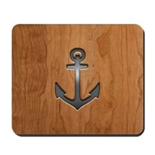 anchor-wood-PLLO Mousepad