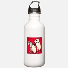 Dalmatian Getting Some Ink Water Bottle
