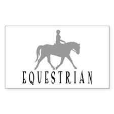 """Equestrian"" Rectangle Decal"