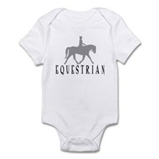 """Equestrian""  Infant Bodysuit"