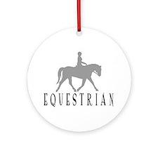 """""""Equestrian"""" Ornament (Round)"""