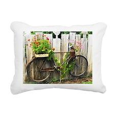 Bicycle Rectangular Canvas Pillow
