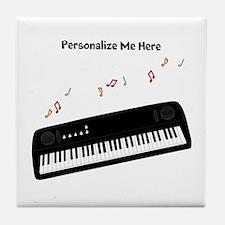 Personalized Keyboard Tile Coaster