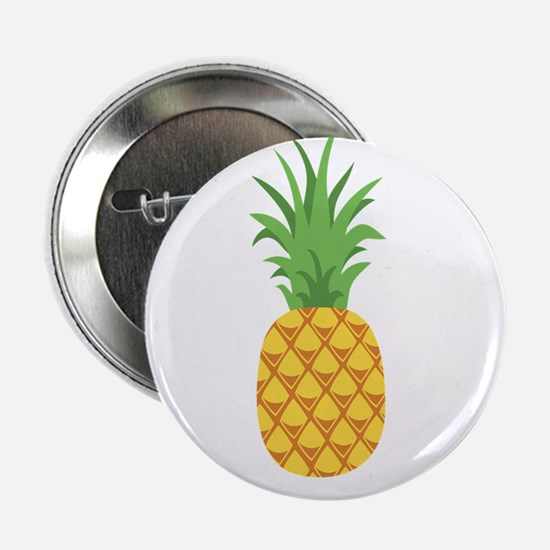 "Pineapple Fruit 2.25"" Button"
