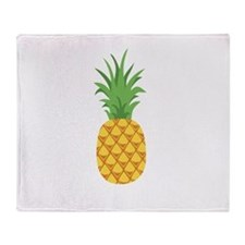 Pineapple Fruit Throw Blanket