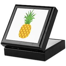 Pineapple Fruit Keepsake Box