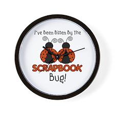 Scrap Bug Wall Clock