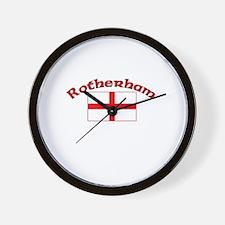 Rotherham, England Wall Clock
