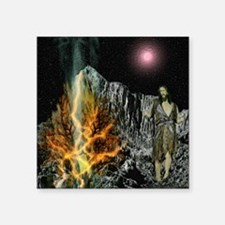 Moses And The Burning Bush Sticker