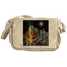 Moses And The Burning Bush Messenger Bag
