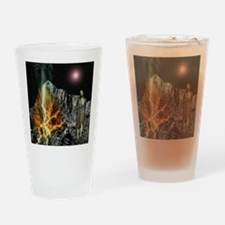 Moses And The Burning Bush Drinking Glass