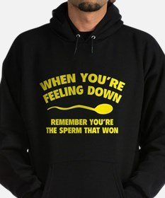 When You're Feeling Down Hoodie