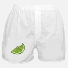 lime wedge Boxer Shorts
