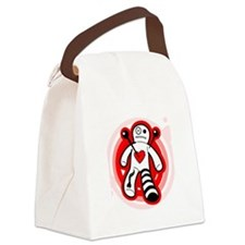 Valentine Man Canvas Lunch Bag