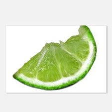 lime wedge Postcards (Package of 8)