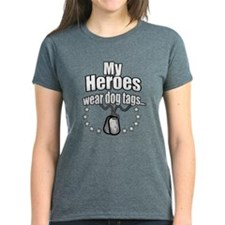 My Heroes wear dog tags 2 T-Shirt