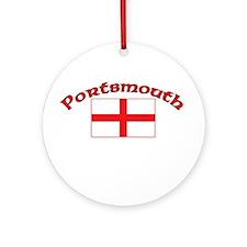 Portsmouth, England Ornament (Round)