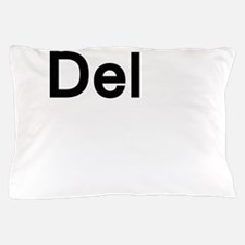 del.png Pillow Case